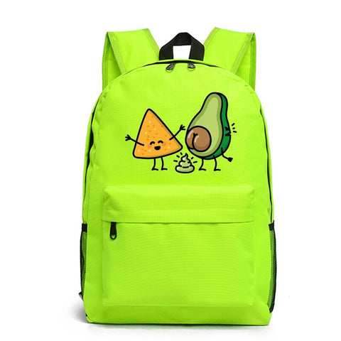 Avocado Backpack<br>Tortilla