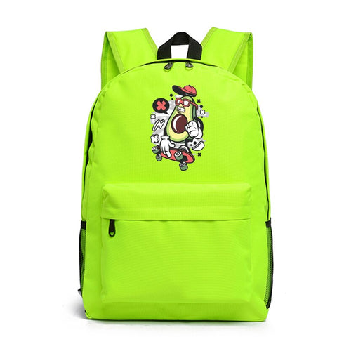 Avocado Backpack <br>Skateboarding