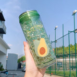Avocado Water Bottle <br>Cute