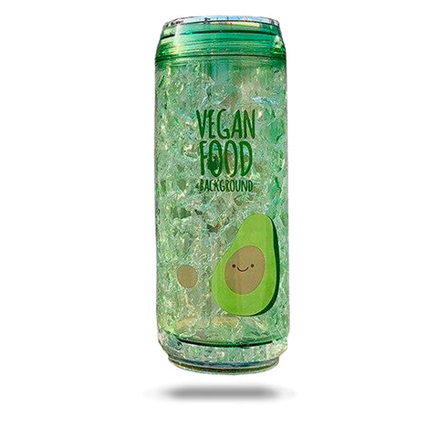 Avocado Water Bottle <br>Vegan