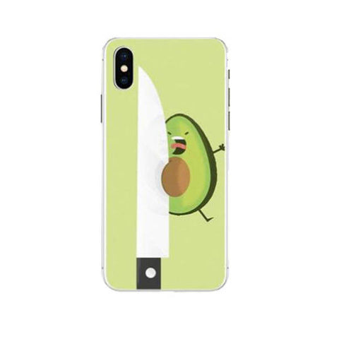Avocado Cut Phone Case | Avocado Clothing Store