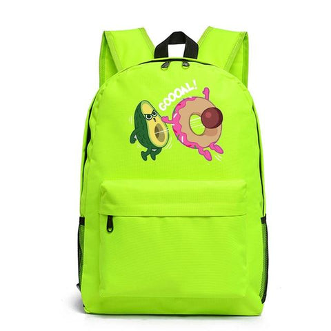 Avocado Donut Backpack | Avocado Clothing Store