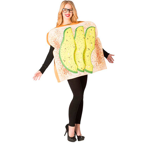 Avocado Costume <br>Toast