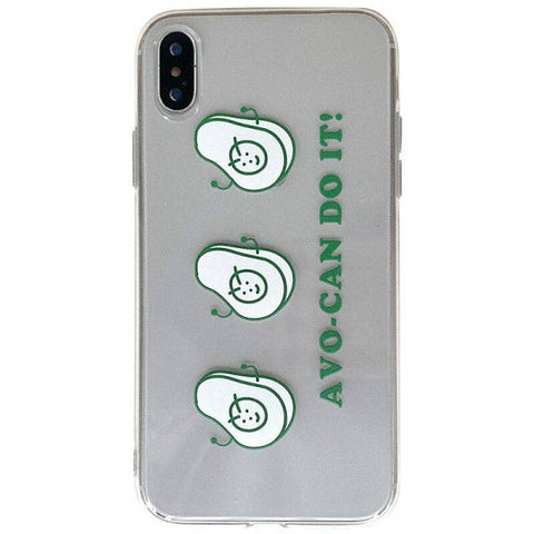 Clear Avocado Phone Case | Avocado Clothing Store