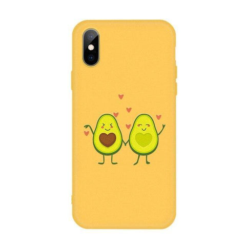 Cute Avocado Phone Case | Avocado Clothing Store