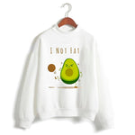Avocado Hoodie<br>I'm Not Fat