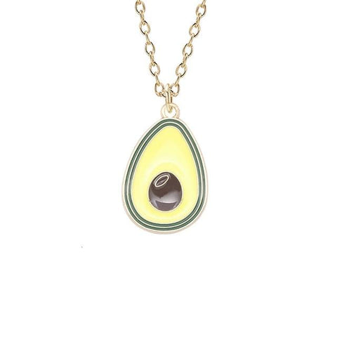Green Avocado Necklace | Avocado Clothing Store