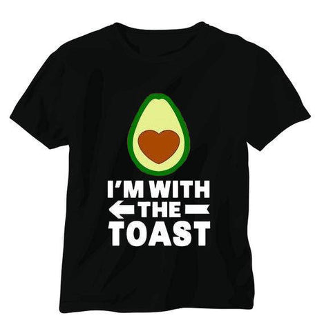 I'm With The Toast Shirt | Avocado Clothing Store