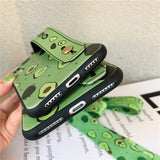 Avocado Phone Case<br>With Strap