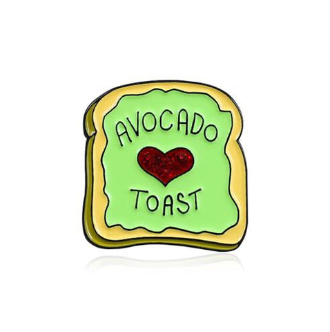 Avocado Pins <br>Toast