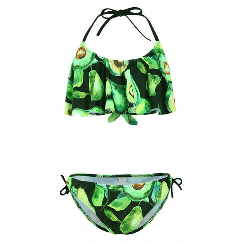 Avocado Costume <br>Green Bikini