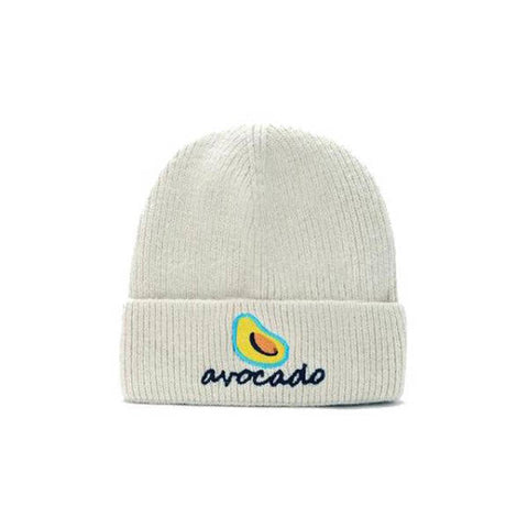 White Avocado Bonnet | Avocado Clothing Store