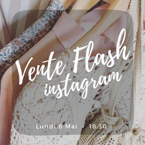 Vente flash - Instagram