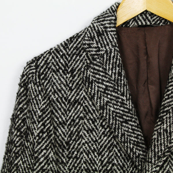 Manteau à chevrons