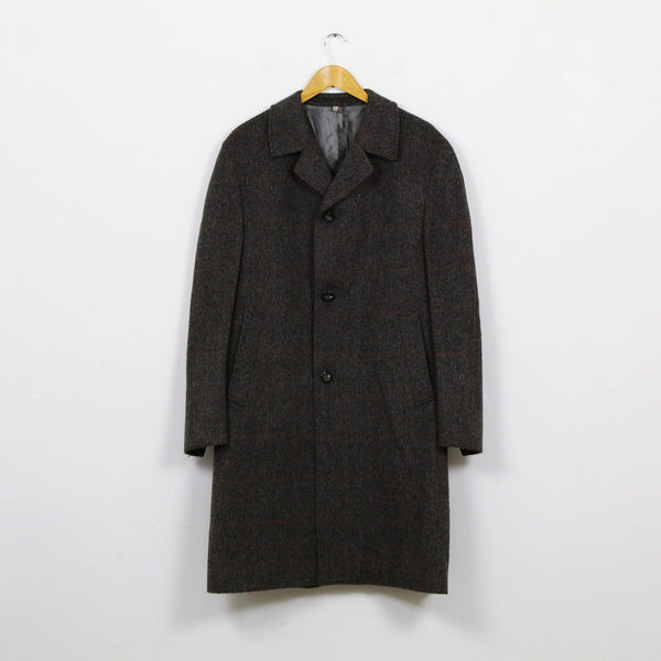 Manteau chiné