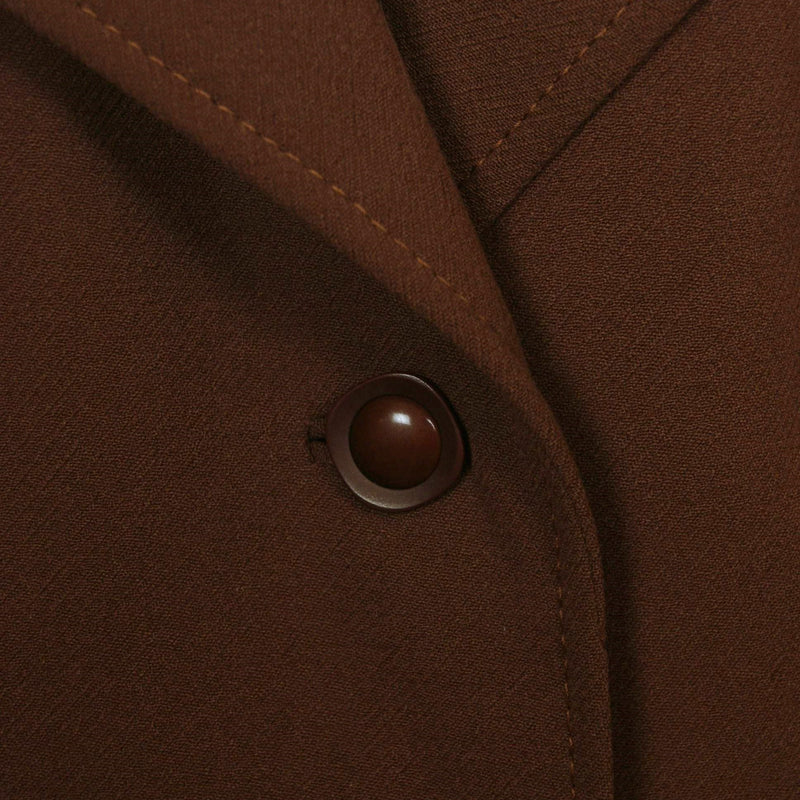 Manteau marron