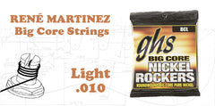 RENÉ MARTINEZ  Big Core Strings (BCL)