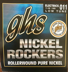 GHS NICKEL ROCKERS-LOW TUNE-ROLLERWOUND PURE NICKEL