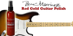 Red Gold Guitar Polish