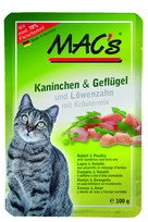 MAC's Rabbit & Poultry 100g pouch