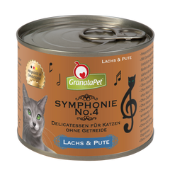GranataPet Symphonie No4 Salmon & Turkey 200g