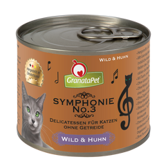 GranataPet Symphonie No3 Game & Chicken 200g