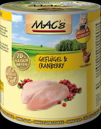 MAC's <BR>Poultry & Cranberry <BR>800g