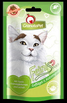 GranataPet Feinis <br>Chicken & Cat Grass <br>50g