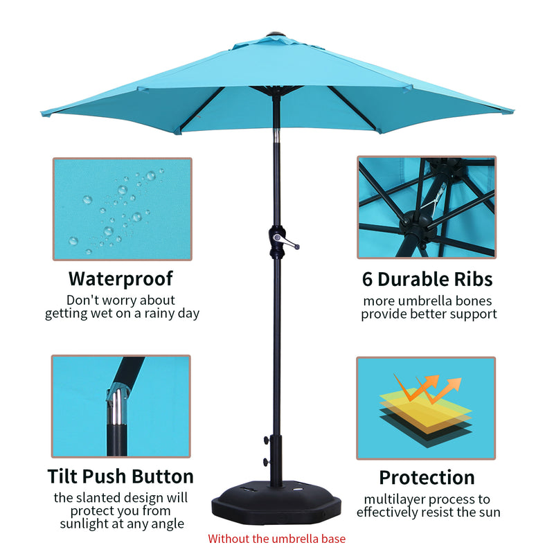 Ainfox 8x8 Ft Canopies 10x 10 Ft Base Slant Legs Pop up Canopy Tent for Camping Party(Blue,Red,Pink,White)