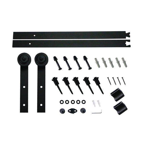Ainfox Sliding Barn Door Hardware Kit