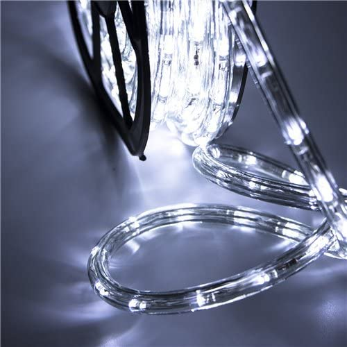 Ainfox  LED Rope Lights Outdoor, 100FT / 30M, 1080 Lights