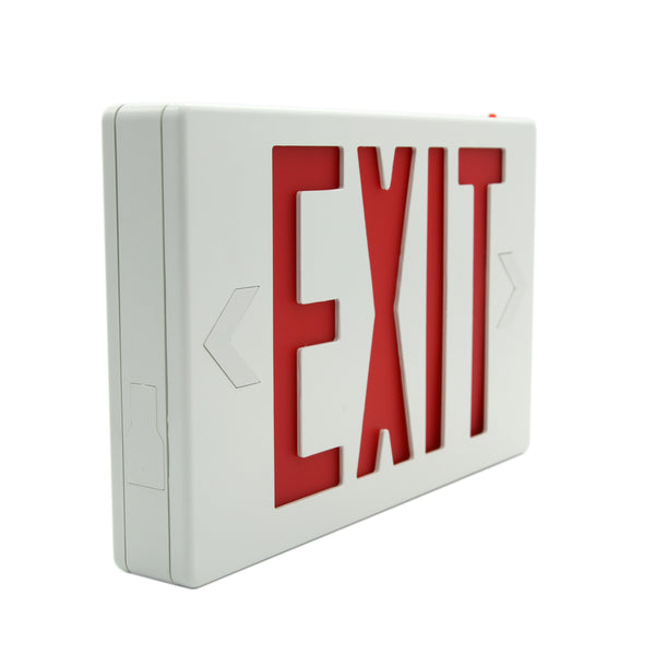 Ainfox LED Exit Sign Emergency Wall Light, RED Letter