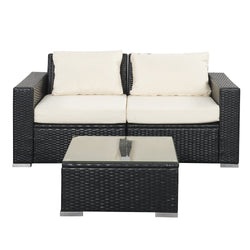 Fantastic Outdoor Patio Furniture Sets Pe Rattan Wicker Sofa Sectional Inzonedesignstudio Interior Chair Design Inzonedesignstudiocom