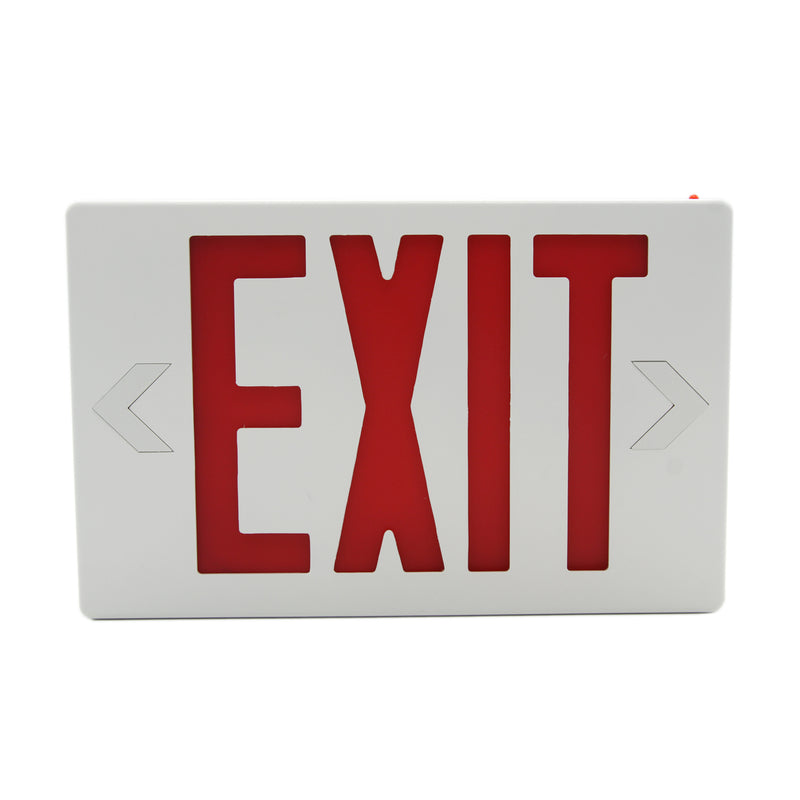 Ainfox 6 Packs Exit Emergency Light LED,UL Certified - Red Emergency Exit Sign Light for Business, Battery Backup