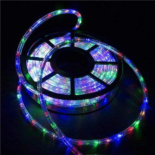 Ainfox LED Rope Light,color,100FT / 30M, 1080 Lights