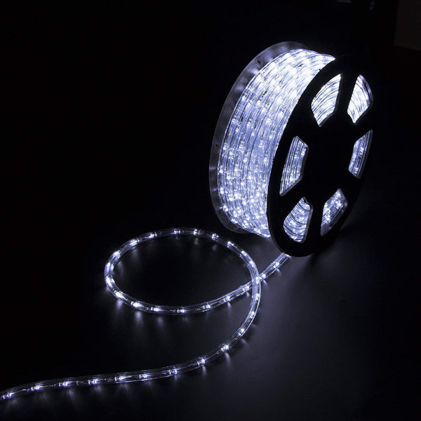Ainfox LED Rope Light, cold white, 150ft