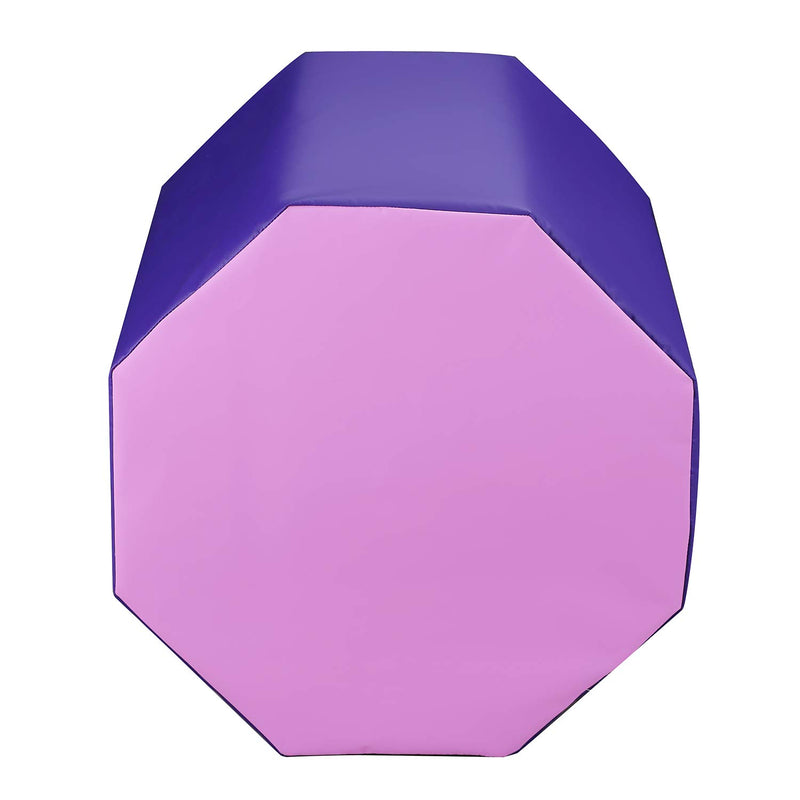 "Ainfox 24.4"" x 29"" Octagon Tumbler Octagon Gymnastics Mat Skill Shape Handsprings Backbend Somersault Tumbling Trainer (2color)"
