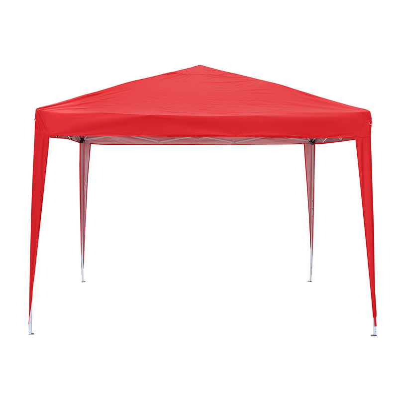 Ainfox Canopy Tent 10x10 Pop Up Canopy Outdoor Canopies Super Comapct Canopy Portable Tent Popup Beach Canopy Shade Canopy Tent with Wheeled Carry Bag