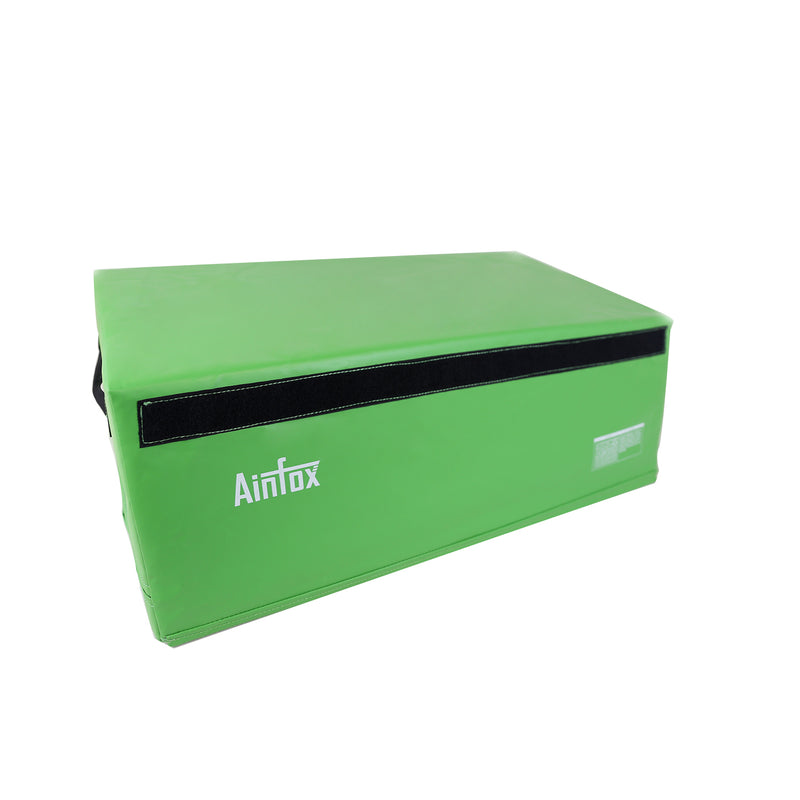 Ainfox PVC Soft Foam Plyo Jump Box for Plyometric Exercise Fitness Safe Box 3 color