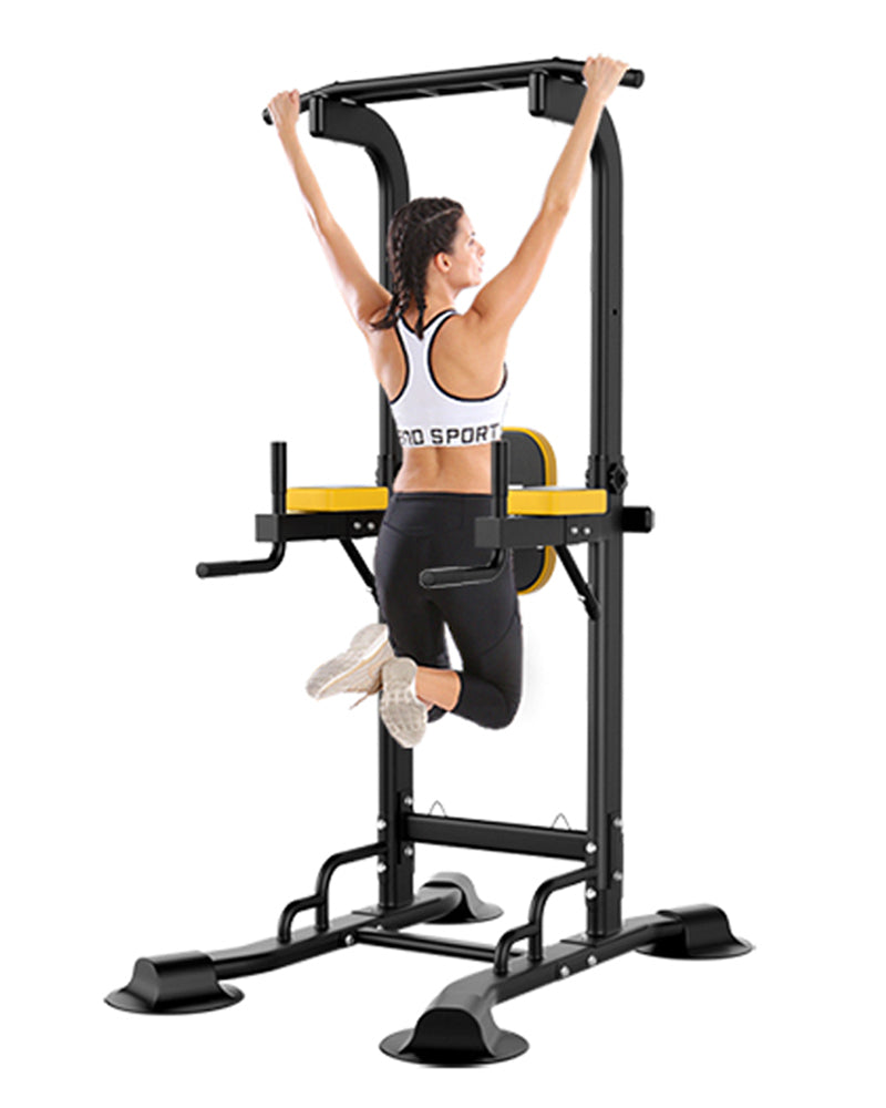 Ainfox Power Tower Multi-Function Home Strength Training Tower Dip Stands Workout Station