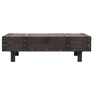 Table basse en bois - Marron