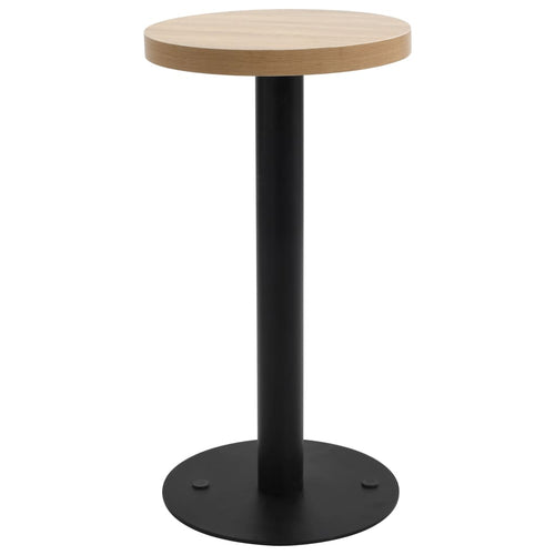 Table de bistro Marron clair 40 cm MDF