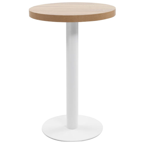 Table de bistro Marron clair 50 cm MDF