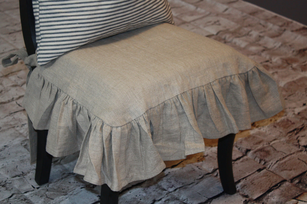 Linen Chair Slip