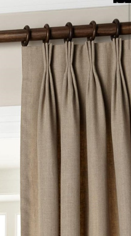 Custom Pinch Pleat Drapes