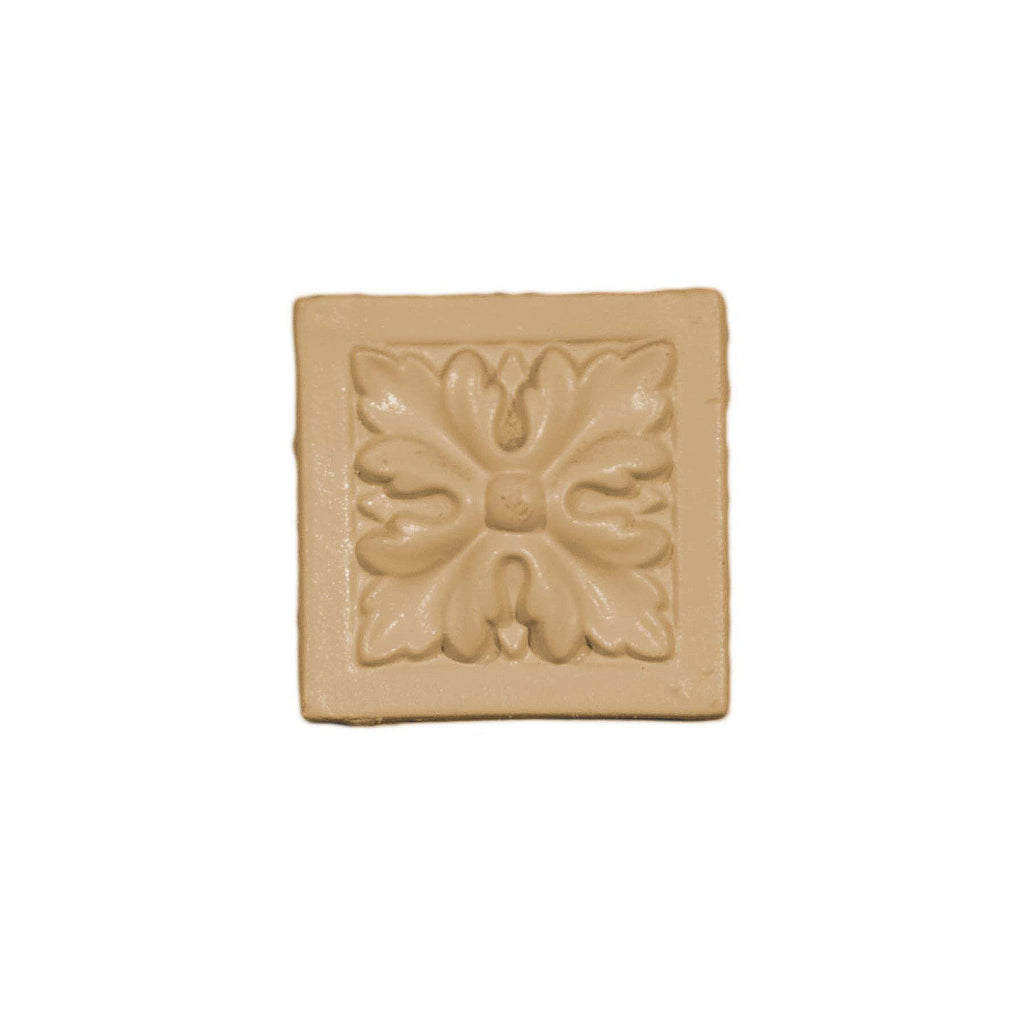 Efex Latex Applique Square Floral Rosette