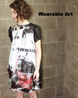 ART MEETS FASHION = WEARABLE ART
