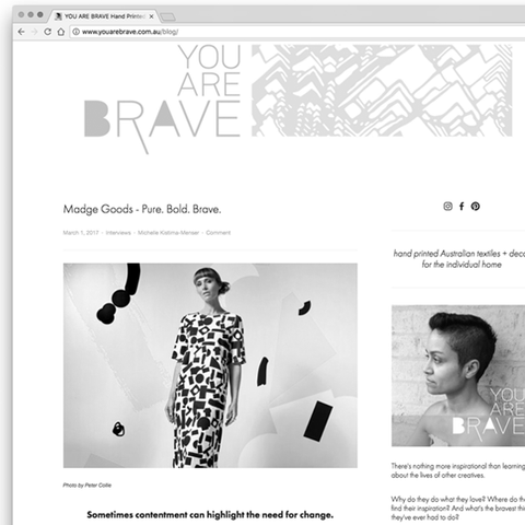 Madge Goods - You Are Brave