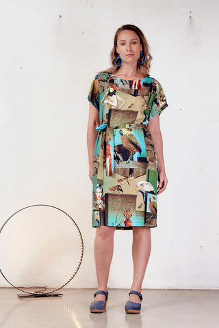 Shell Menagerie Dress
