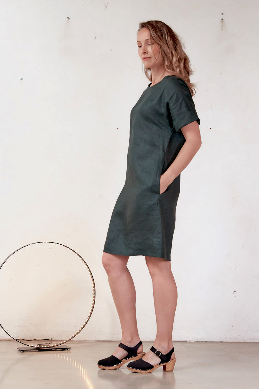 Tunic Liquorice Dress